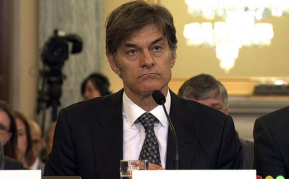 Dr. Oz testifies about diet