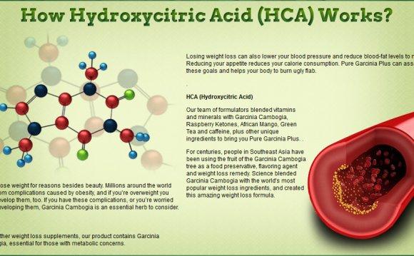 As hydroxycitric acid