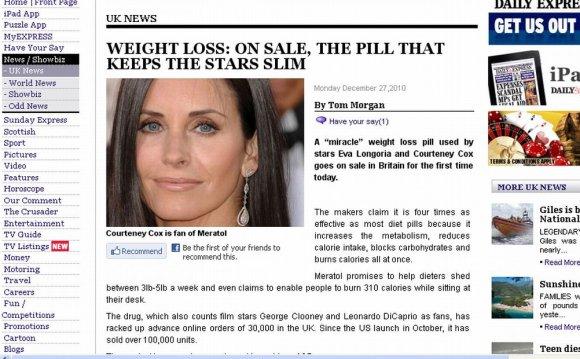 Media Miracle Diet Pills
