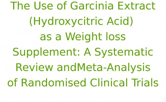 The-Use-of-Garcinia-Extract