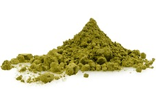 100percent Matcha green tea leaf dust