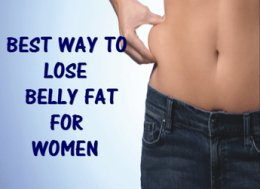 Best Way to reduce Belly Fat for Women