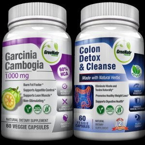 Colon Detox + natural Garcinia Cambogia - Super detoxification & Losing Weight BUNDLE